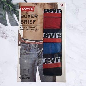 Levi's Boxer Brief 3-Pack Size XL